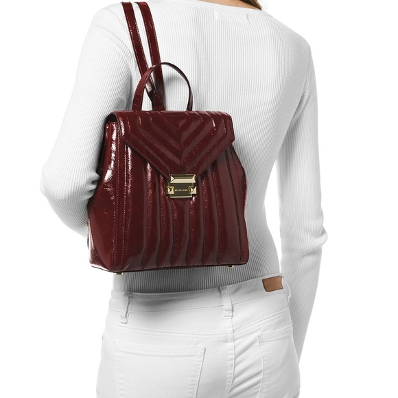 2d6ba41bd297 Michael Kors Bags | Whitney Medium Leather Backpack | Poshmark